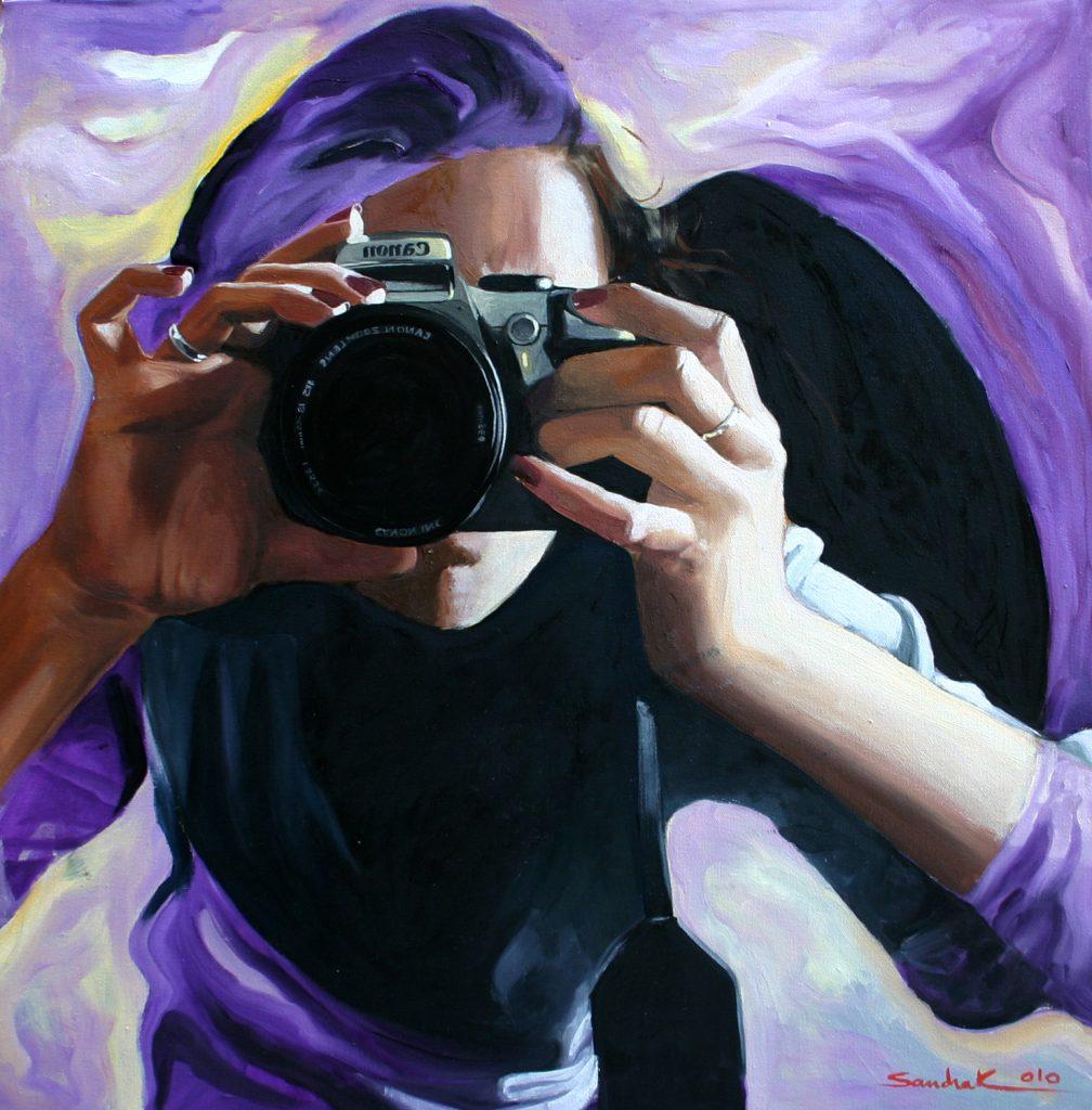 Framing reality 60x60cm