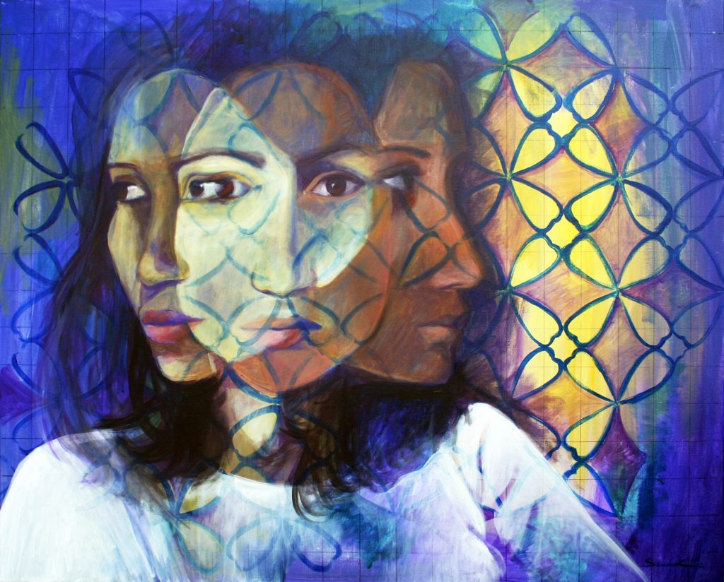 Me, Me and Me 100x80cm acrilyc on canvas 2011